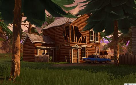 Shifty Shafts 4k House Fortnite Hd Wallpaper Download