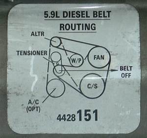 Belt Zara Images  Dodge Serpentine Belt Diagram