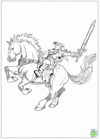Zelda Coloring Pages Legend Printable Quinn Harley