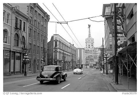 black  white picturephoto street  gastown