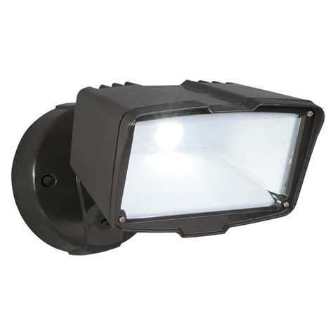 defiant bronze led outdoor flood light fsl2030ldf the
