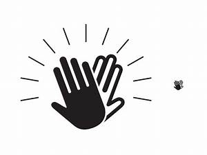 Dribbble - High Five Icon WIP by Sean Collins