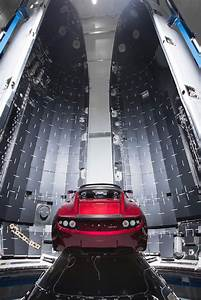 Photos  Elon Musk U2019s Tesla Roadster Prepped For One
