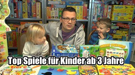 Top Kinderspiele für Kinder ab bzw für 3 Jahre (zum