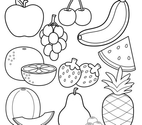 Coloring Fruit by Get This Free Fruit Coloring Pages To Print 61049