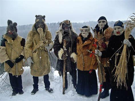 Latvian winter mask and mumming traditions. Latviešu ...
