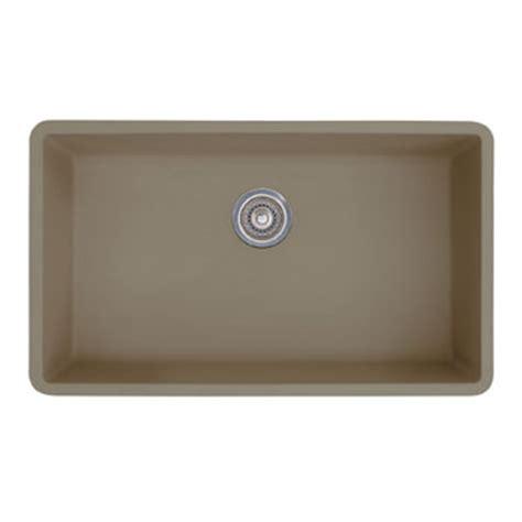 blanco precis sink truffle blanco 441297 precis single bowl undermount