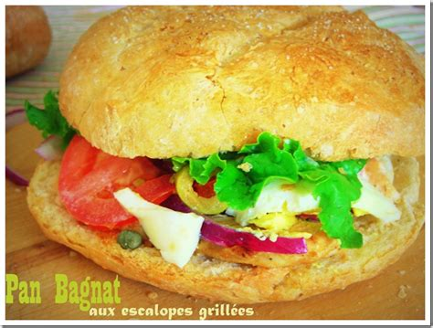 cuisine marocaine facile ramadan pan bagnat ou bagnat sandwich niçois le