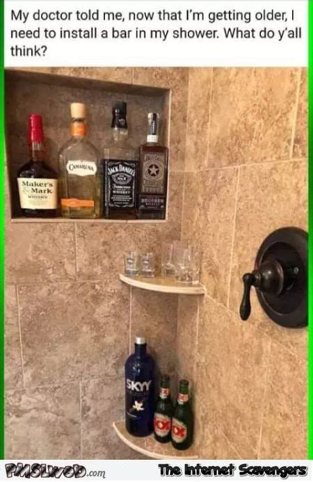 My In The Shower by The Doctor Told Me To Install A Bar In My Shower