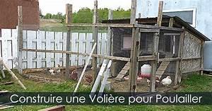 Fabrication D Une Voliere Exterieur : poulailler et voli re guide de construction d 39 un poulailler ~ Premium-room.com Idées de Décoration
