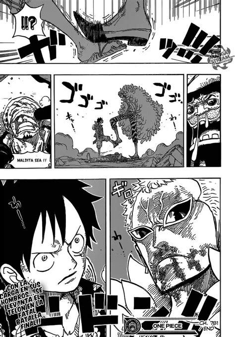 Luffy vs Doflamingo. // One Piece 781 | One Piece