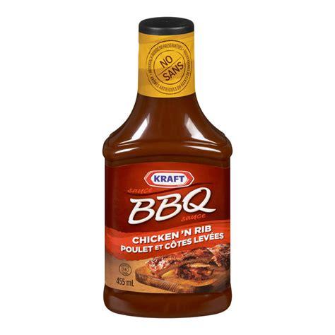 bbq sauces kraft bbq sauce chicken rib 455ml fresh st market