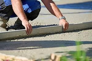 Comment Faire Une Dalle : comment couler une dalle en b ton en ext rieur beton expert ~ Farleysfitness.com Idées de Décoration