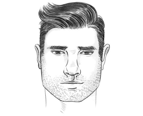 perfect mens hairstylehaircut   square face