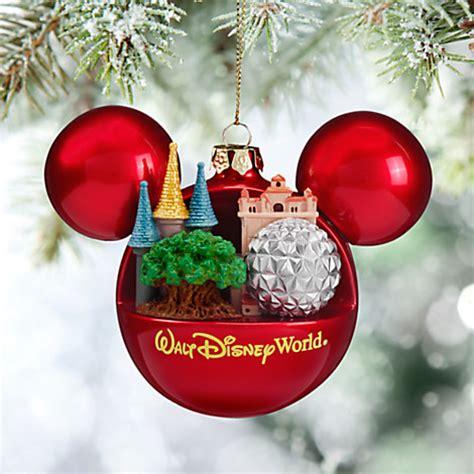wdw store disney christmas ornament mickey ears