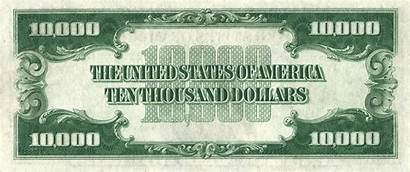 Reverse 1934 Usd Note Series Dollar Bill