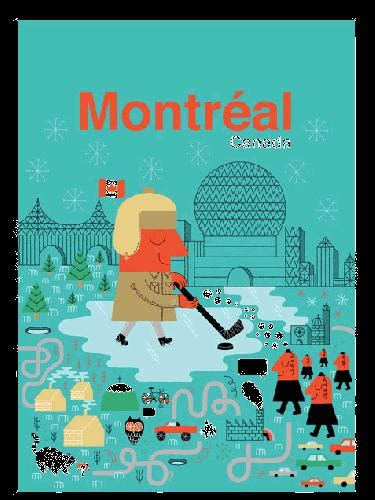 Human Empire Poster by Hafen Human Empire Montreal Poster Poster 50x70cm