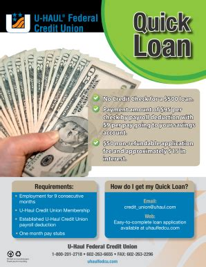 Best cheap car insurance for military service members and veterans. Uhaul Credit Union - Fill Online, Printable, Fillable, Blank | PDFfiller