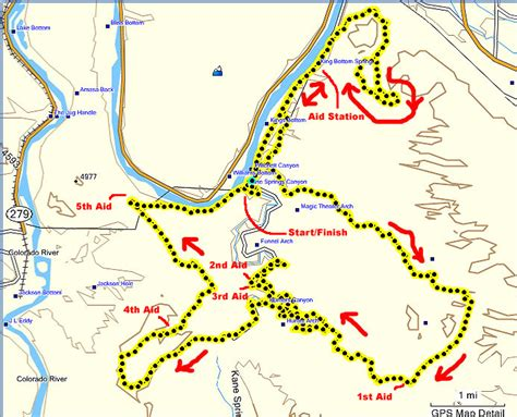 moab jeep trails map ultimate xc moab 50k near arches national park moab utah