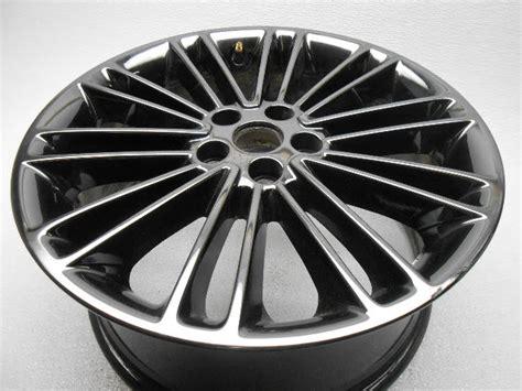 oem ford fusion spoke wheel rim black alpha automotive