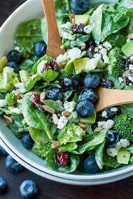 Spinach Salad with Blueberries Recipe