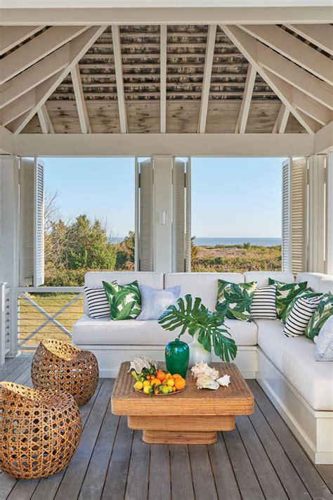 caribbean inspired breezy south carolina beach house idesignarch interior design