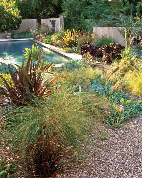 Backyard Tours by Garden Tour Serene Setting Martha Stewart