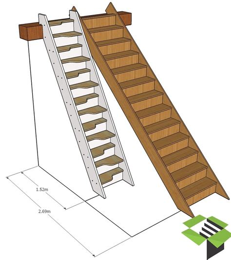 apartment garage normal staircase vs spacesaver stair stairbox tiny house