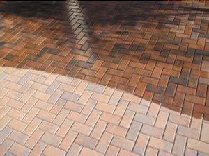 seal maintain concrete interlocking pavers