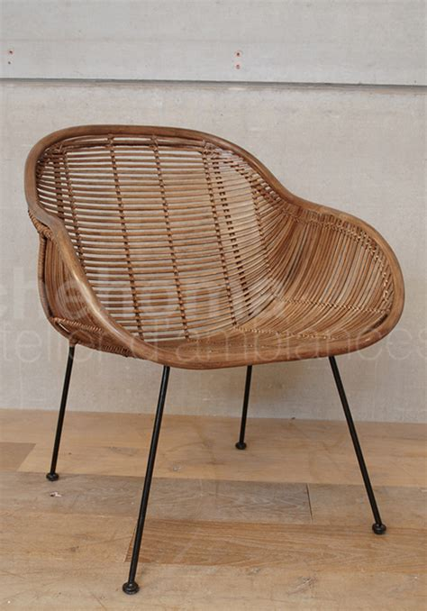 fauteuil chehoma fauteuil en osier chehoma