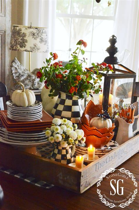 centerpiece ideas for kitchen table fall kitchen table centerpiece vignettes fall decor and