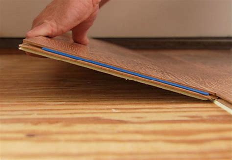 how to lay tongue and groove laminate flooring install a laminate floor