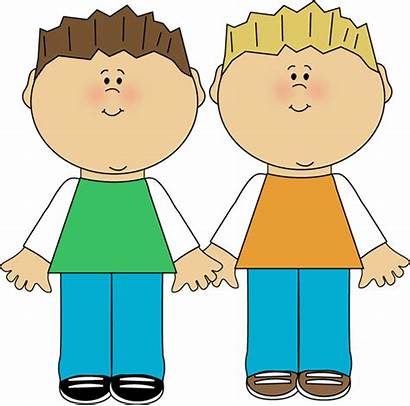 Brothers Siblings Friends Brother Clipart Clip Fighting