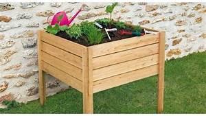 Bac Bois Potager : bac de jardinage teciverdi ~ Melissatoandfro.com Idées de Décoration