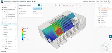 Figure Conjugate Heat Transfer Simulation Printed