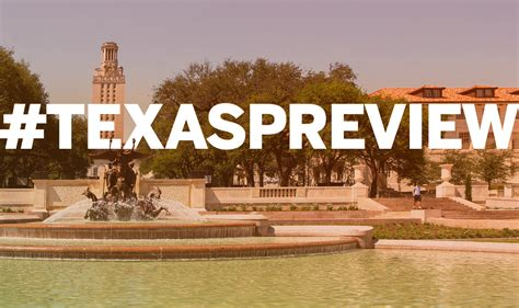 The University of Texas at Austin - Texas Preview Registration