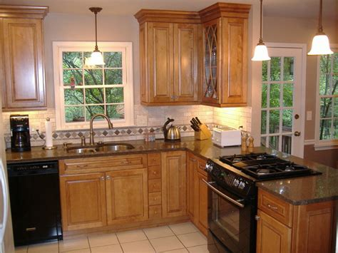 kitchen kraft cabinets montclair maple square door style in with 2111
