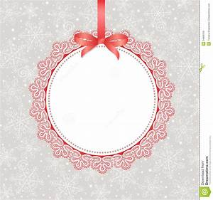 Template Frame Design For Greeting Card Stock Vector