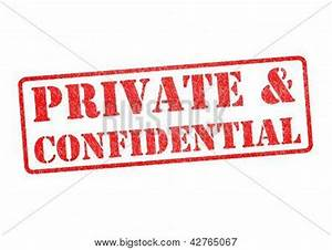 Private & Confidential Stamp Stock Photo & Stock Images ...
