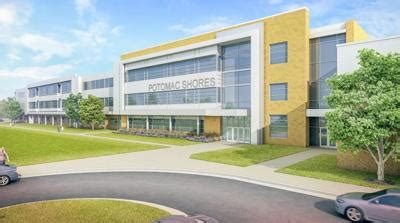 construction beginning potomac shores middle school prince william