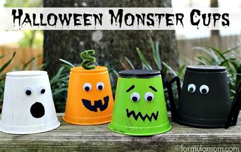 Quick & Easy Halloween Crafts For Kids  Happiness Is Homemade