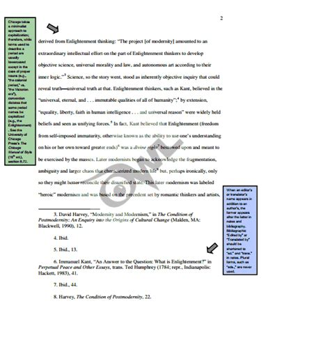 footnote examples styles video lesson transcript studycom