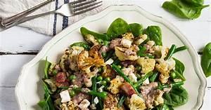 Speck Mit Bohnen : blumenkohlsalat mit speck bohnen erbsen und feta rezept ~ Lizthompson.info Haus und Dekorationen