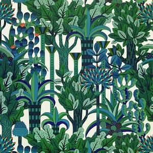 jardin d39osier papier peint hermes wall floor With affiche chambre bébé avec hermes fleur d oranger