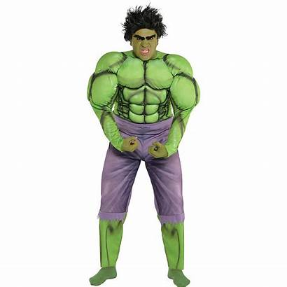 Hulk Costume Adult Muscle Incredible Costumes Adults