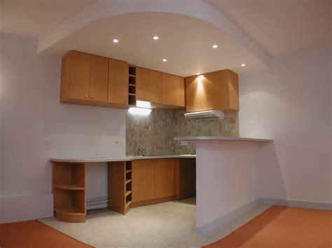 plafond de cuisine design plafond cuisine plâtre 2015