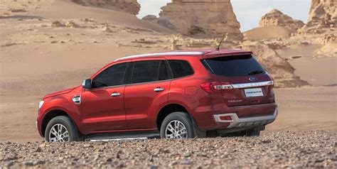 2018 Ford Endeavour Price
