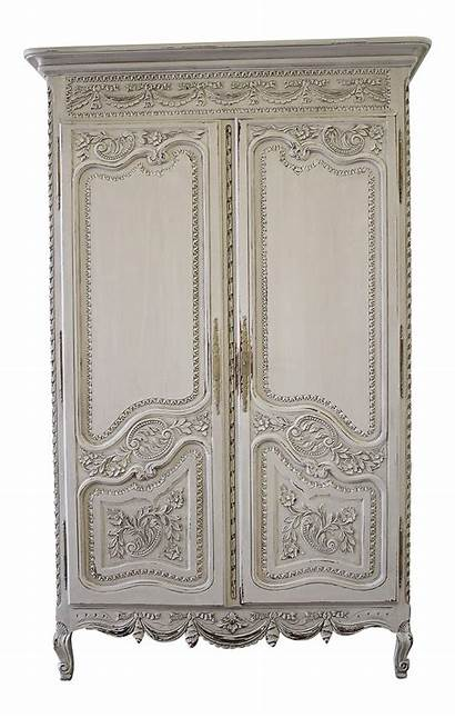 Chairish French Furniture Painted Wood Armoire Cabinets