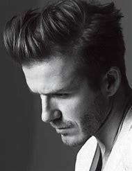 David Beckham Pompadour Hairstyle