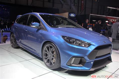 Foto: Beurzen Geneve 2015 Ford Focus RS Ford Focus RS 3446